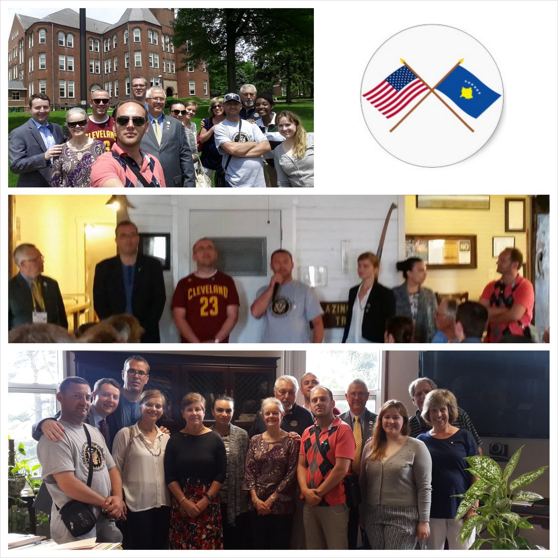 Programi Rotarian i shkëmbimit të miqësisë SHBA-Kosovë