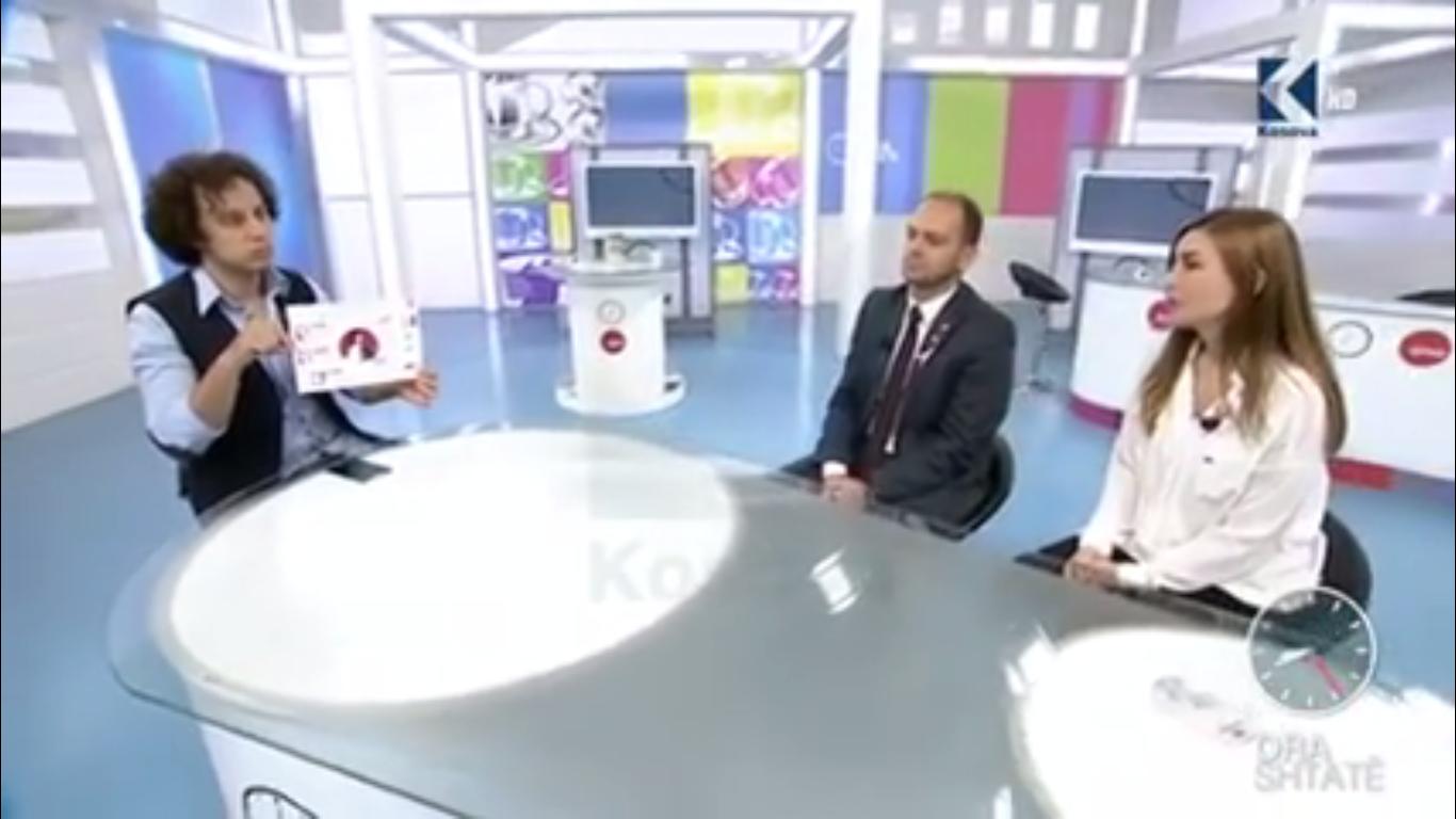 Prezantimi i Klubit Rotarian Gjakova-Çabrati në Ora 7 në Klan Kosova
