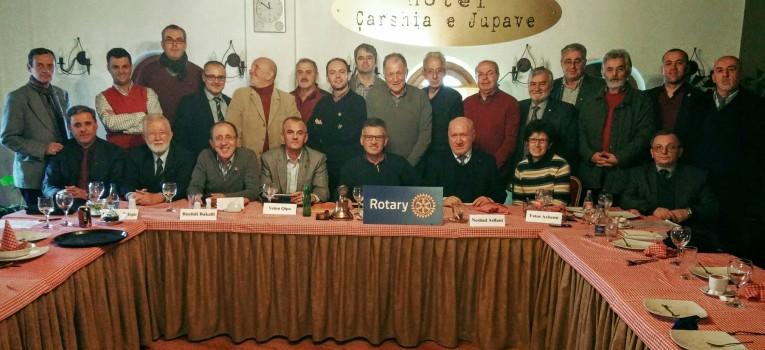 Gjakova nikoqire e takimit të radhës të Këshillit të Klubeve Rotariane të Kosovës