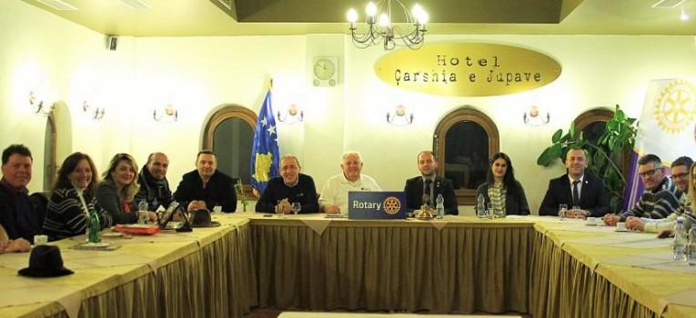 Mr. Richard Dangler elected as honorary member for life of Rotary Club Gjakova-Qabrati