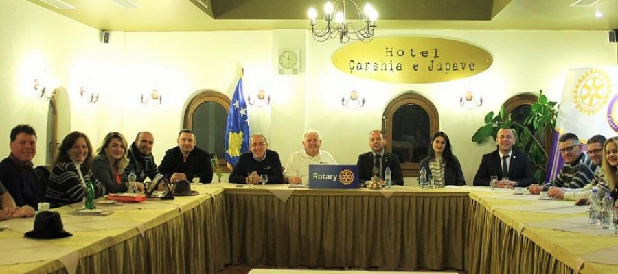 Mr. Richard Dangler elected as honorary member for life of Rotary Club Gjakova-Qabrati