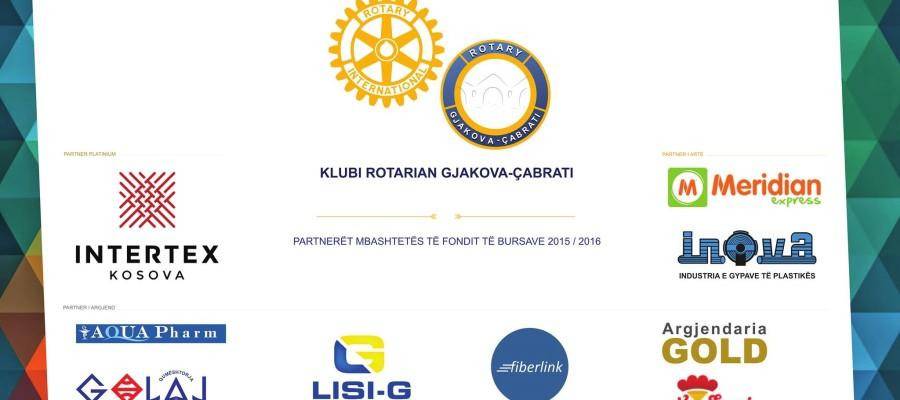 U përmbyll me sukses shpërndarja e bursave për vitin akademik 2015/16 nga Fondi i Bursave pranë KR Gjakova-Çabrati