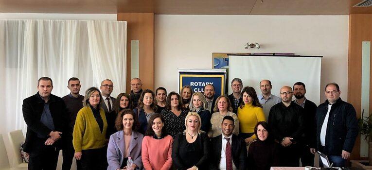 """Klubi Rotarian Gjakova–Çabrati finalizon projektin """"Telemedicina në Qendrat e mjekësisë familjare në Gjakovë"""""""