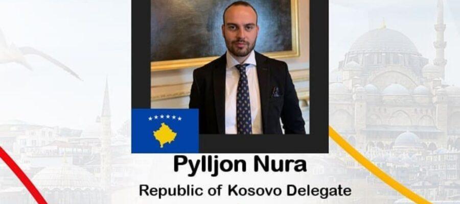 Rotaract ''Gjakova'' member Pylljon Nura, will represent Kosovo at Global Peace Summit
