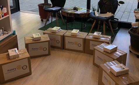 KR Gjakova-Çabrati dhuron per shkollat fillore